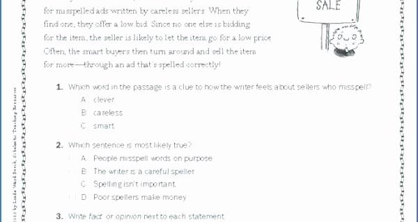 Summarizing Worksheet 4th Grade 4th Grade Reading Test Prep Worksheets