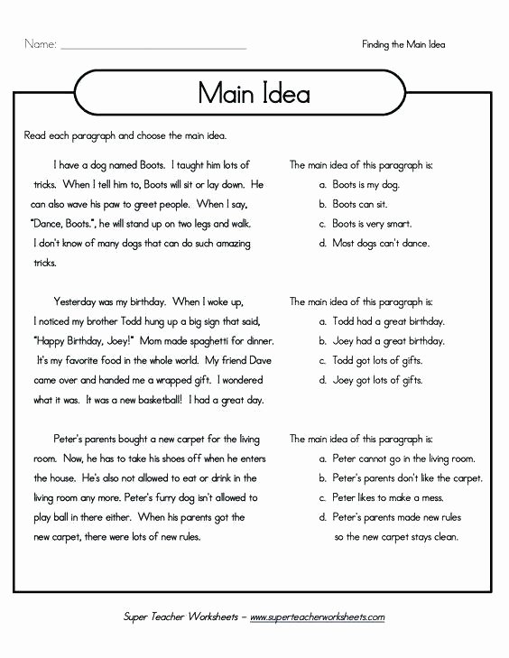Summarizing Worksheet 4th Grade First Grade Summarizing Worksheets Worksheet Inspiring 7