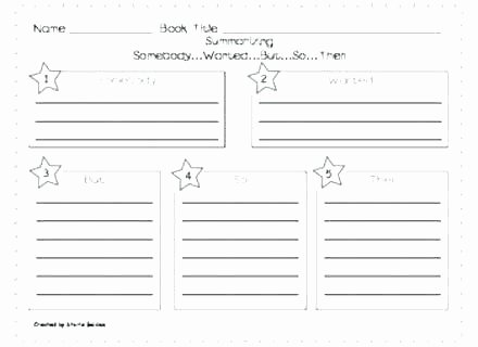 Summarizing Worksheet 4th Grade Summarizing Worksheets 3rd Grade