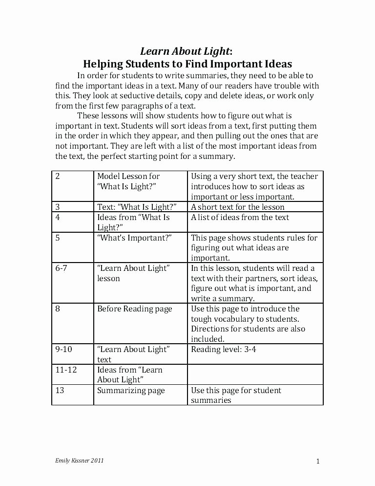 Summary Worksheets 2nd Grade Informational Text Worksheets 2nd Grade