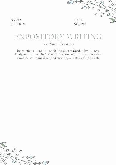 Summary Worksheets 5th Grade Summarizing Worksheets for Grade and Paraphrasing High