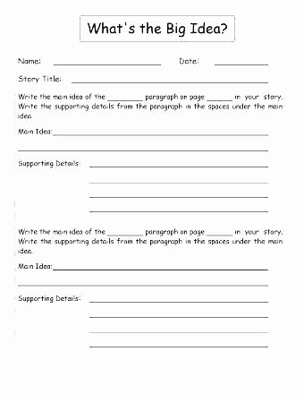 Summary Worksheets Middle School Summarizing Worksheets