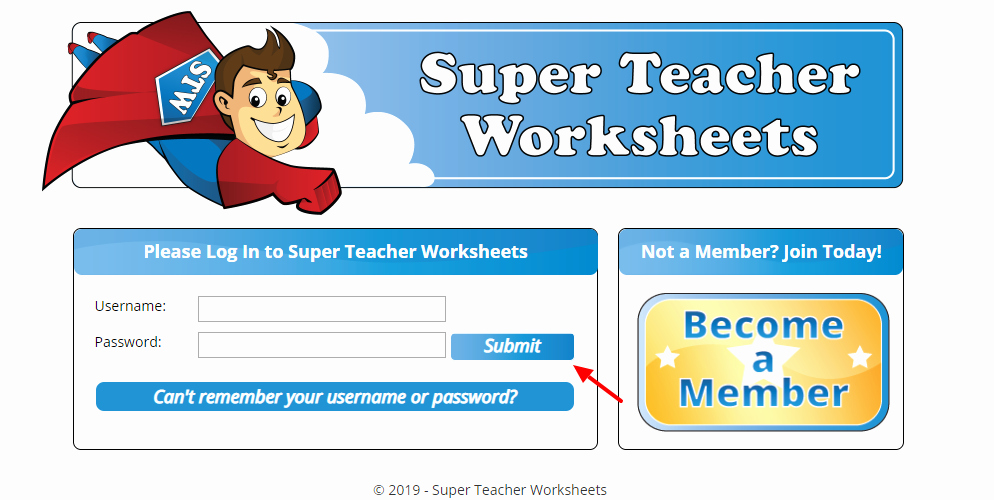Super Teacher Login How to Get the Membership