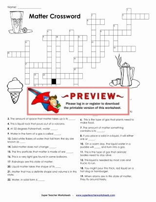 Super Teacher Login Super Teacher Worksheet Answers Unique Crossword Puzzle