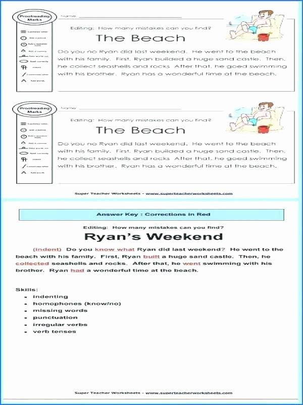 Super Teacher Worksheets Homophones Editing Skills Worksheets Year 3 Editing Skills Worksheets