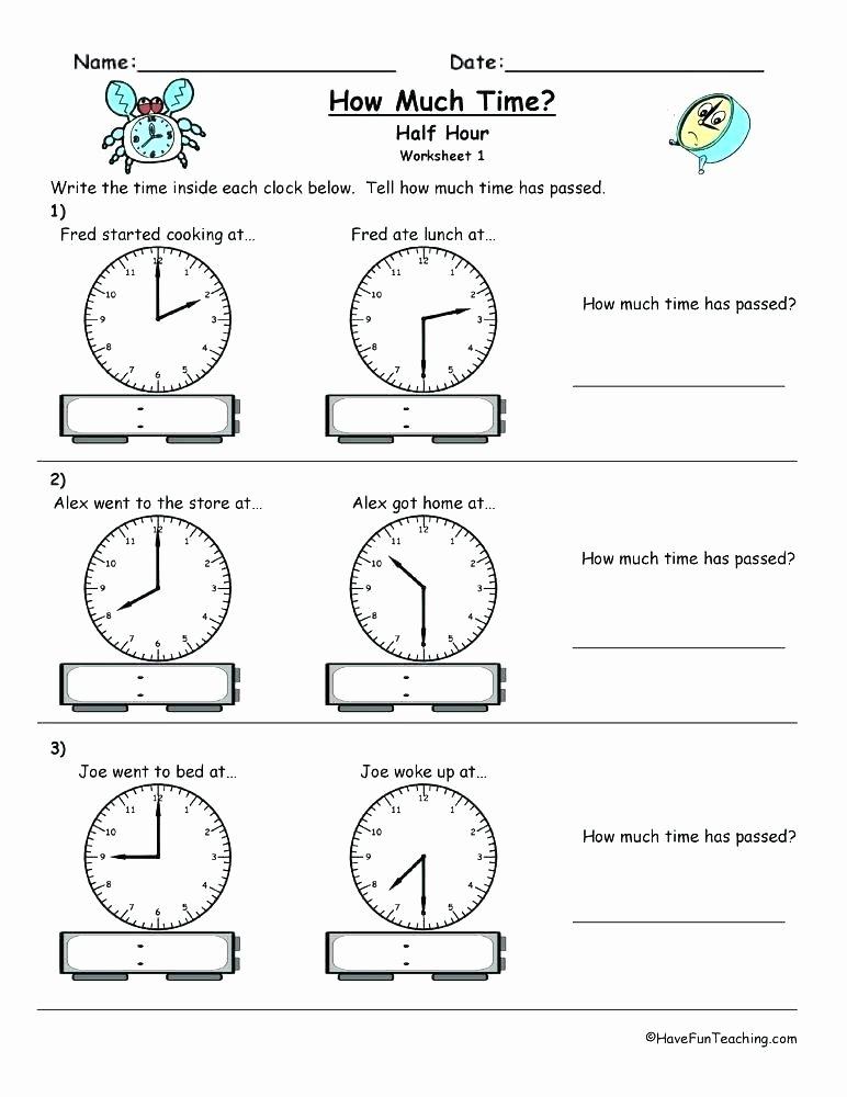 Super Teacher Worksheets Idioms Elapsed Time to the Hour Worksheets Worksheet Hour May