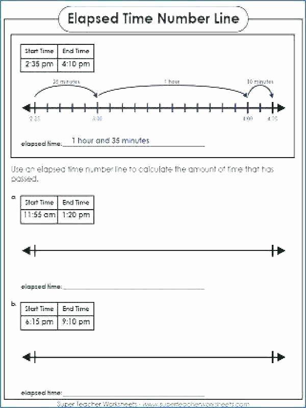 elapsed time hour worksheet 2 number line answers telling 3 teacher appreciation week printable worksheets
