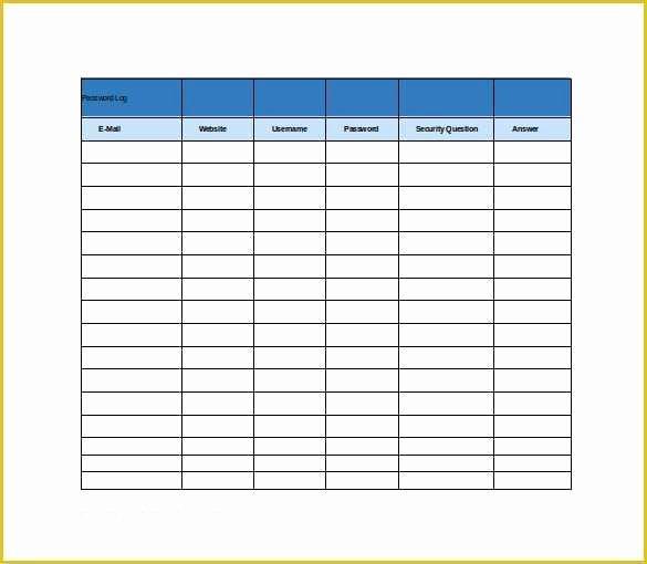 Super Teacher Worksheets Password 2016 Luxury Free S&op Excel Template 9 Password Spreadsheet