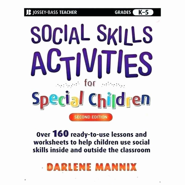 Teaching social Skills Worksheets social Skills Worksheets for Highschool Students