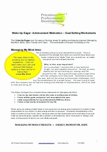 Teamwork Worksheets for Students Awesome Teamwork Worksheets Team Goal Setting Template Worksheet for
