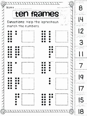 Ten Frame Addition Worksheets Printable Picture Frame – Reelradiofo