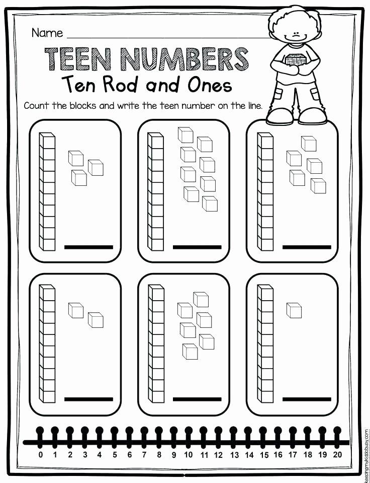 Ten Frame Addition Worksheets Teen Numbers Worksheets Free Download Ten Frames Freebie