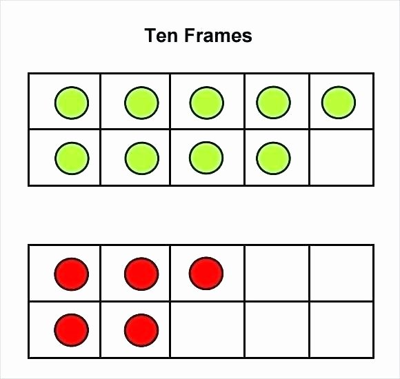 Ten Frame Addition Worksheets Template Proposal source A All Worksheets Math Ten Frame