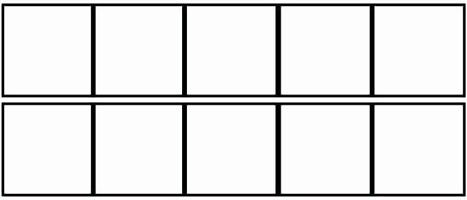 Ten Frame Addition Worksheets Worksheets Frame for Kindergarten Ten Frames 7 Double 2nd
