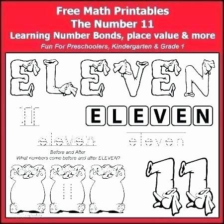 Ten Frame Worksheets First Grade Elegant Free Math for Kindergarten and Grade 1 Students A Number