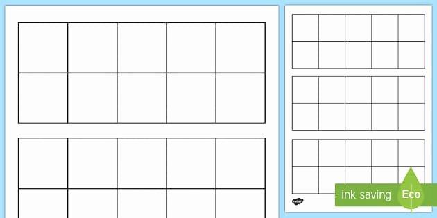 t n blank ten frame activity sheet ver 1