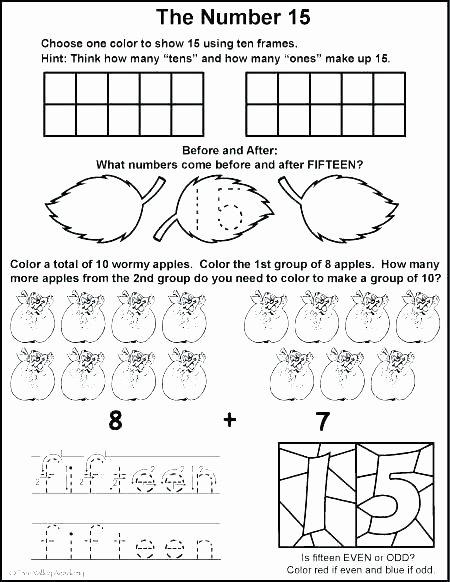 Ten Frame Worksheets for Kindergarten Grade Worksheets Free Ten Frame for First Double Worksheet