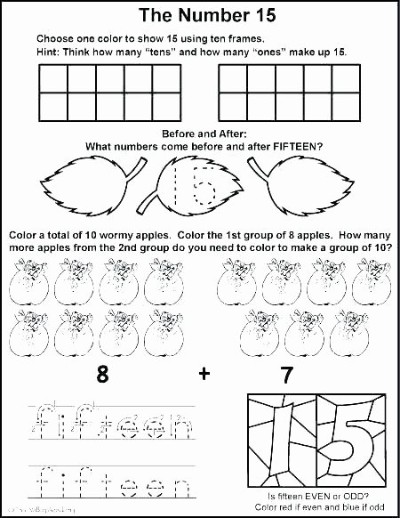 Ten Frames Worksheets Grouping Worksheets for Kindergarten