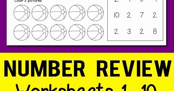 Ten Frames Worksheets Number Review Worksheets