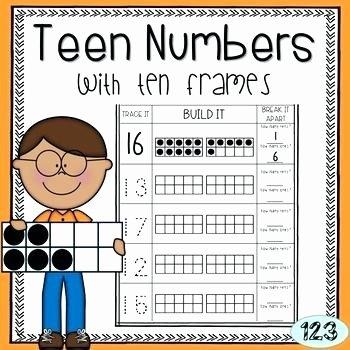Ten Frames Worksheets Ten Frame Worksheets Frames Worksheet Addition for
