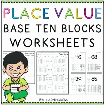 Tens and Ones Worksheets Kindergarten Base Ten Worksheets Kindergarten Place Value Tens and Es