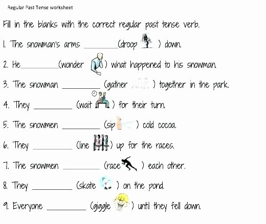 Tense Agreement Worksheet Awesome Nouns and Adjectives Worksheets Grade 1 Games Free Verbs