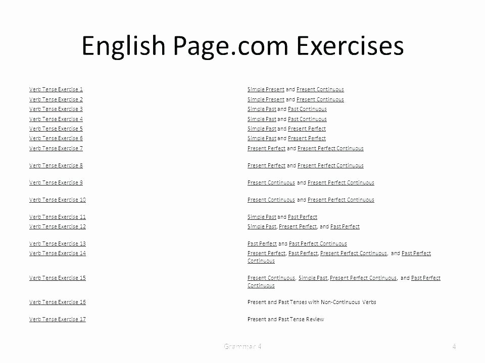 Tenses Worksheets for Grade 5 Esl Simple Past Tense Worksheets Worksheet for Class 5