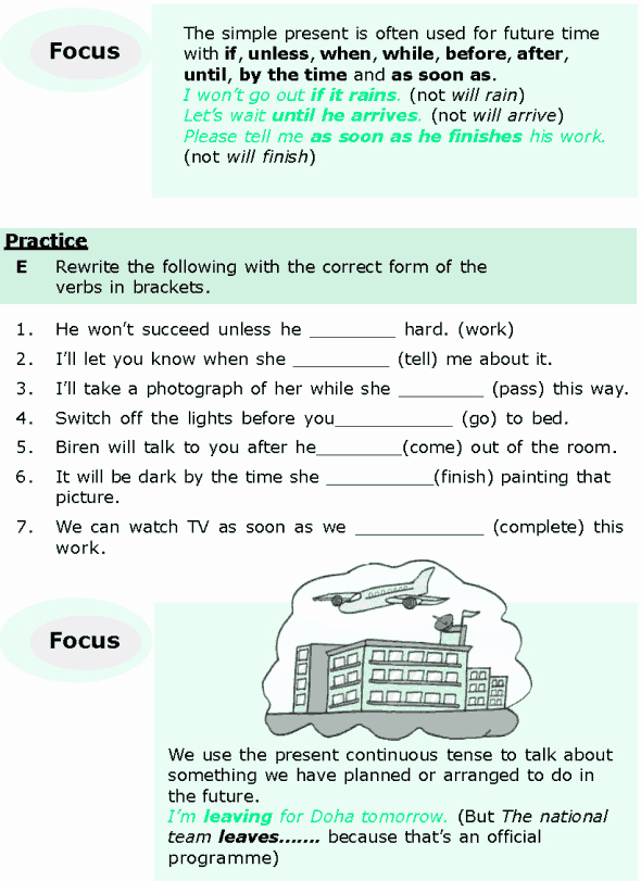 Tenses Worksheets for Grade 6 Grade 6 Grammar Lesson 5 Expressing the Future