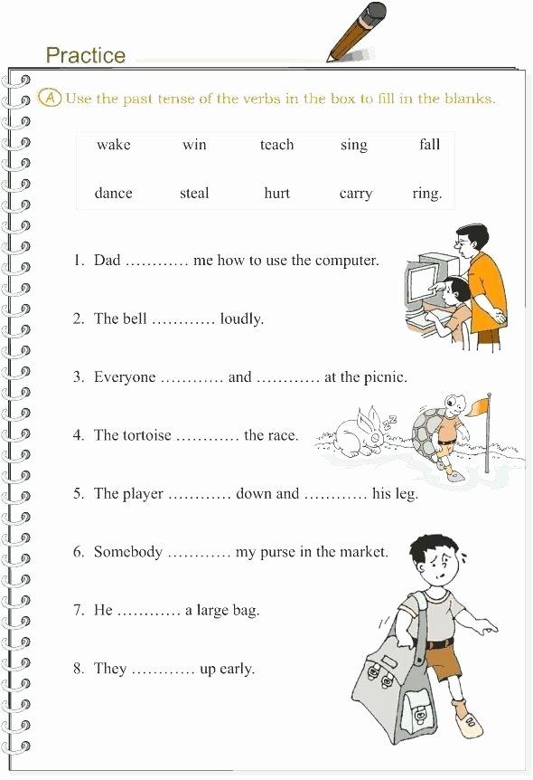 Tenses Worksheets for Grade 6 Grammar Worksheet Simple Past Tense Classroom Teaching Ideas