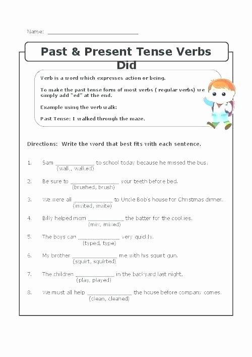 Tenses Worksheets for Grade 6 Tenses Worksheets for Grade 8 Amazing Simple Past Tense