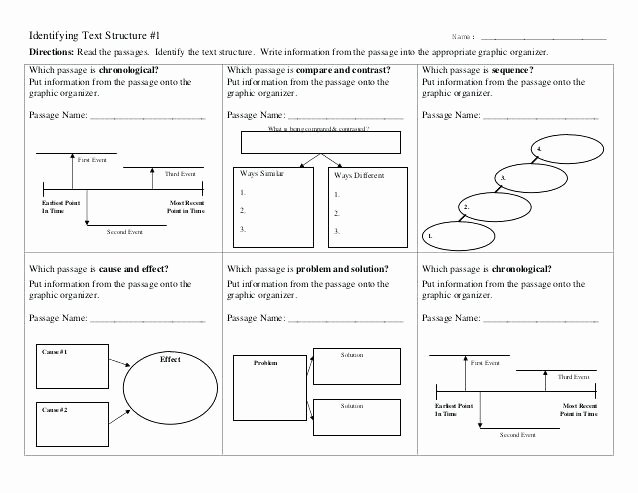 Text Structure Practice Worksheets Recognizing Cause and Effect Posters Printable Zoom Text