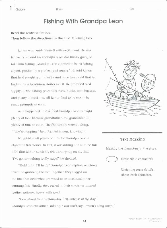 Text Structure Worksheets 4th Grade Nonfiction Worksheets 4th Grade Reading Prehension