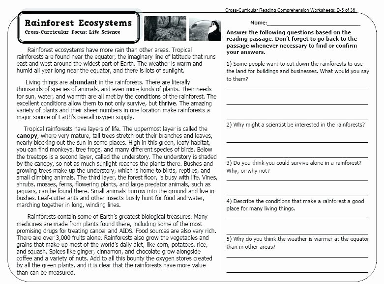 Text Structure Worksheets 4th Grade Text Structure Worksheets for Middle School