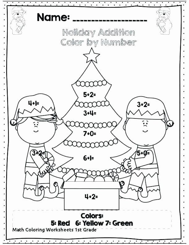 Thanksgiving Math Worksheets First Grade Coloring Activities for 1st Graders – Spikedsweettea