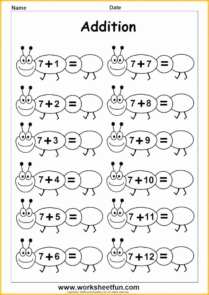 Thanksgiving Math Worksheets First Grade First Grade Math Worksheets Subtraction to Learning A Addition