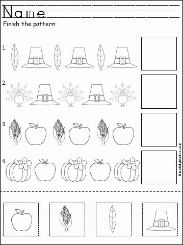 Thanksgiving Pattern Worksheets Awesome Beth Parlatore Bethparlatore On Pinterest