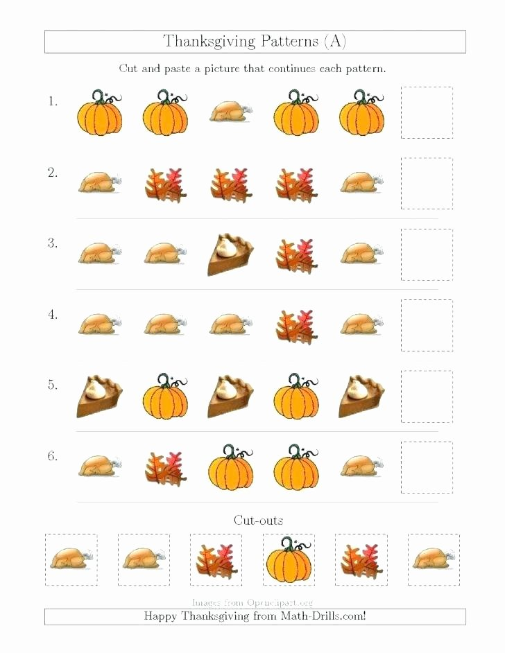 Thanksgiving Phonics Worksheets Free Printable Menu Math Worksheets Fresh S by Ma Pdf