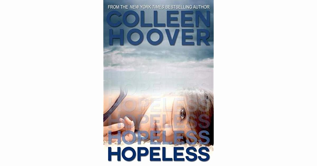 The Book Thief Plot Diagram Hopeless Hopeless 1 by Colleen Hoover