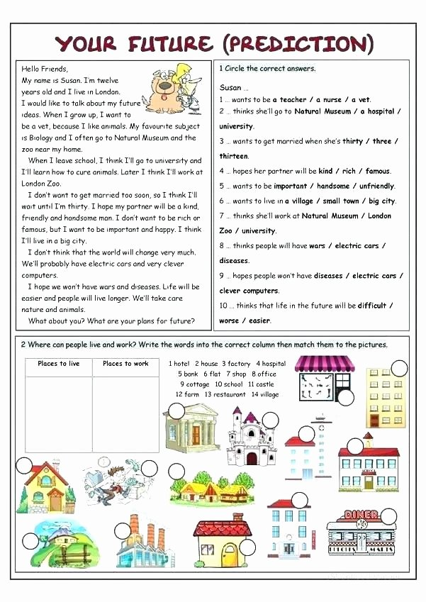 The Clever Factory Worksheets Narrative Writing Worksheet Making Predictions Worksheets