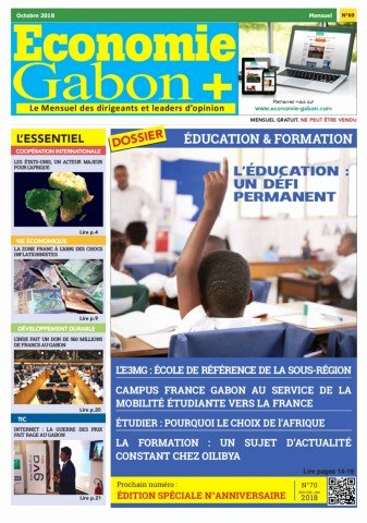 The Egypt Game Test Economie Gabon N°69 Oct 2018 Web Pages 1 24 Text Version