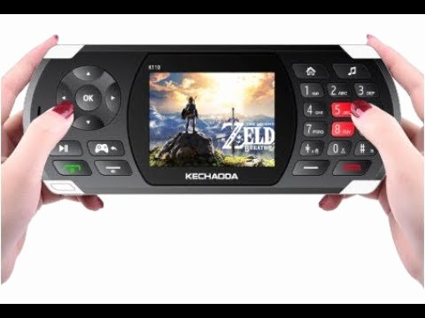 The Egypt Game Test Kechaoda K110 Game Phone 2 8 Inch 2600mah 100 Classic Game torch Big sound Speaker with Vibration Dual Sim Card Dual Standby Feature Phone