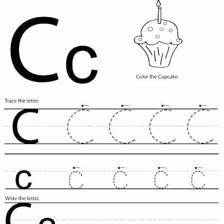 The Letter M Worksheet Letter C Worksheets Free