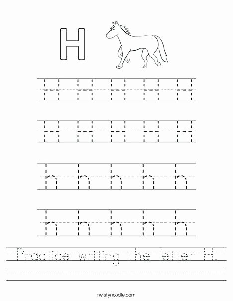 The Letter M Worksheet Letter H Worksheets
