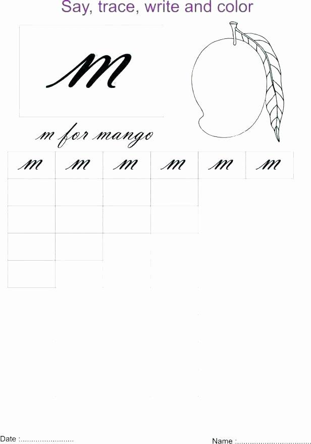 The Letter M Worksheet Lowercase Letter M Color by Letter Worksheet Uppercase