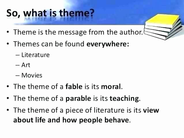 Theme Worksheet Middle School Worksheets theme for Middle School themes Free Teaching