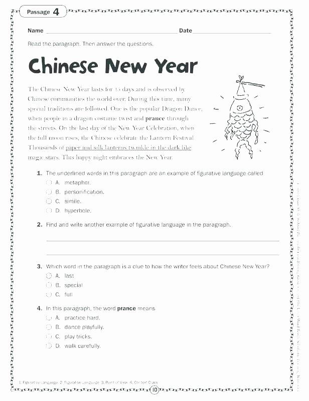 Theme Worksheets 2nd Grade Grade Language Worksheets Grade Language Arts Printable
