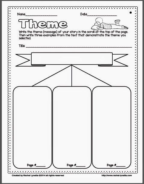 Theme Worksheets 5th Grade astonishing theme Worksheets 5th Grade Fresh Ideas for
