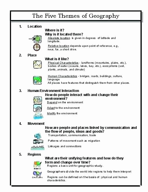 Theme Worksheets Grade 5 theme Worksheets 3 Central Idea and Main Read Determining