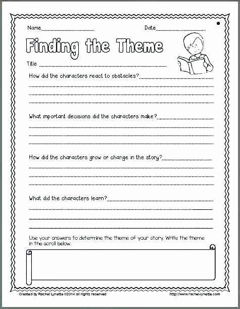 25 theme Worksheets Middle School Pdf | Softball Wristband ...