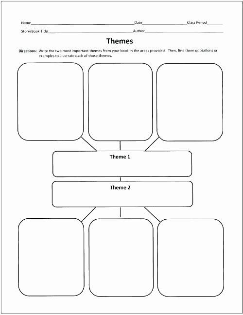 Theme Worksheets Middle School Pdf New Identifying theme Worksheets